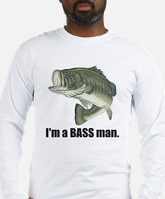 bass man Long Sleeve T-Shirt