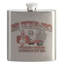 Rib Tickler BBQ Flask
