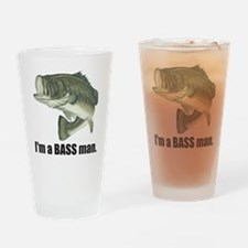 bass man Drinking Glass