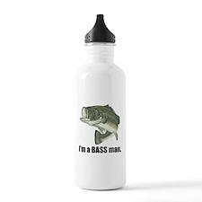bass man Water Bottle
