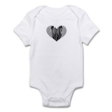 Trombone Heart Infant Bodysuit