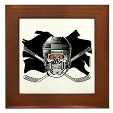 Pirate Hockey @ eShirtLabs.Co Framed Tile