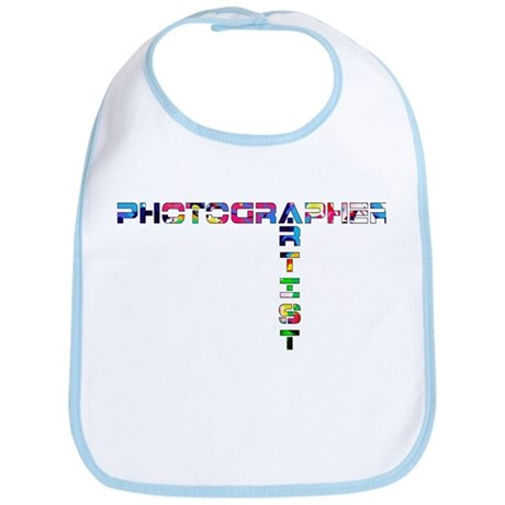 PHOTOGRAPHER-ARTIST-COLOR Bib