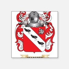 Marsden-2 Coat of Arms - Family Crest Sticker