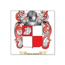 Marsh Coat of Arms - Family Crest Sticker
