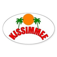 Kissimmee, Florida Oval Decal