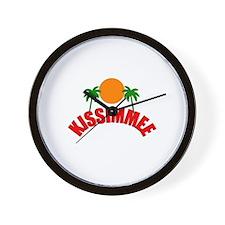 Kissimmee, Florida Wall Clock