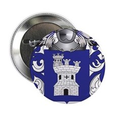 """Martell Coat of Arms - Family Crest 2.25"""" Button"""
