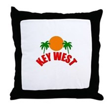 Key West, Florida Throw Pillow