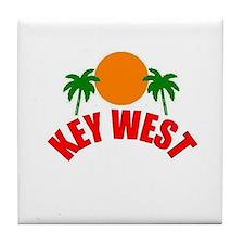 Key West, Florida Tile Coaster