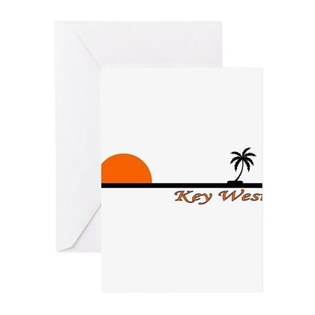 Key West, Florida Greeting Cards (Pk of 10)