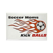 Soccer Moms Rectangle Magnet