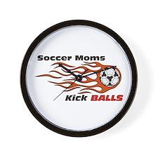 Soccer Moms Wall Clock