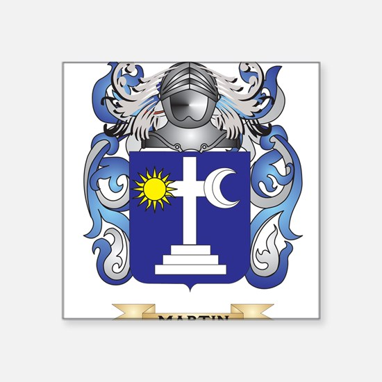 Martin Coat of Arms - Family Crest Sticker