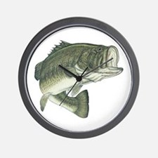 big bass Wall Clock