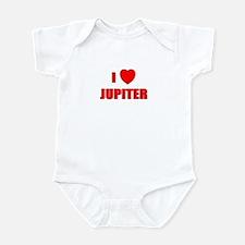 I Love Jupiter, Florida Infant Bodysuit