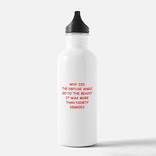 geometry Water Bottle