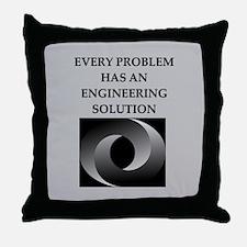 engineering Throw Pillow