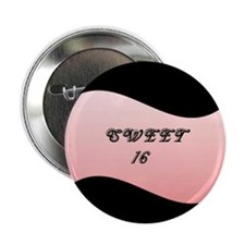 """Sweet 16 2.25"""" Button (10 pack)"""