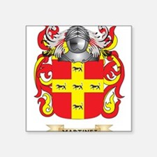 Martinez Coat of Arms - Family Crest Sticker