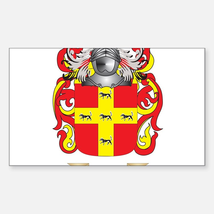 Martinez Coat of Arms - Family Crest Decal