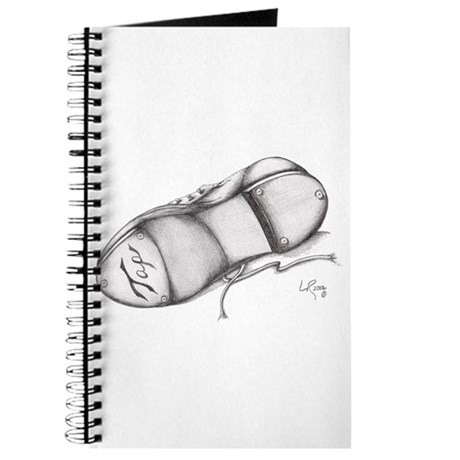 Pencil - Jazz Tap Shoe Journal