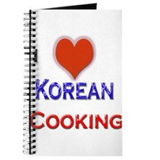 I Love Korean Cooking Journal