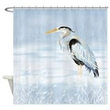 Heron Shower Curtains