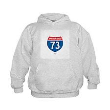 Amateur Radio Interstate Sign Hoodie