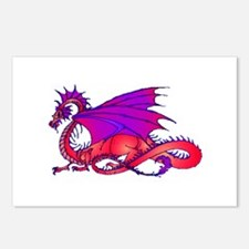 Rainbow Dragon Postcards (Package of 8)