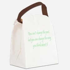Wisdom - Can't Change Past Canvas Lunch Bag