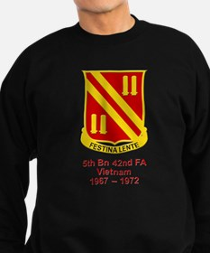 5th Bn, 42nd Field Artillery Sweatshirt