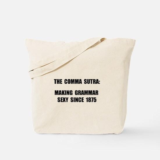 Comma Sutra Sexy Black Tote Bag