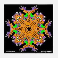 Funny Gnosis Tile Coaster
