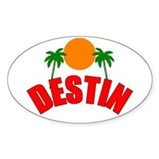 Destin, Florida Oval Decal