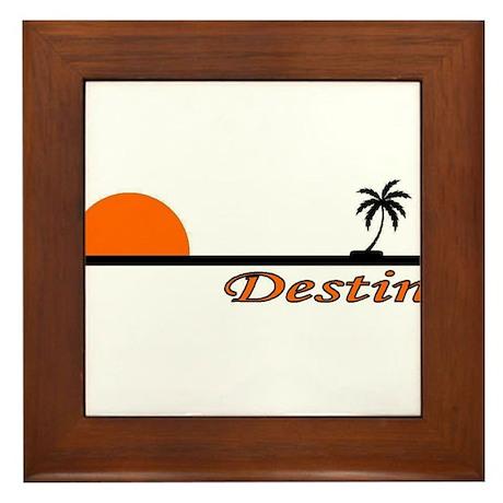Destin, Florida Framed Tile