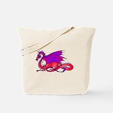 Rainbow Dragon Tote Bag