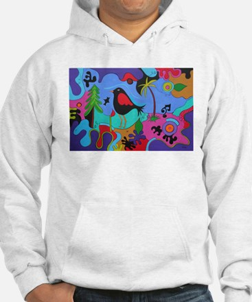 Wired Palm Jumper Hoody