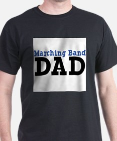 Marching Band Dad Ash Grey T-Shirt