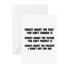 Forget Present Greeting Cards (Pk of 10)