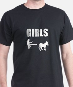 Girls Kick Ass T-Shirt