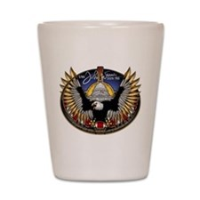 SSN 785 John Warner Shot Glass