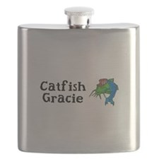 Catfish Gracie Mug Flask