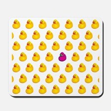 Rubber Ducky Odd One Out - Pattern Mousepad