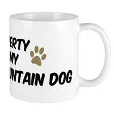 Estrela Mountain Dog: Propert Coffee Mug