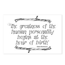 Greatness From Birth Postcards (Package of 8)