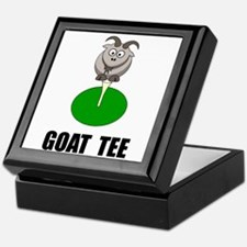 Goat Tee Keepsake Box