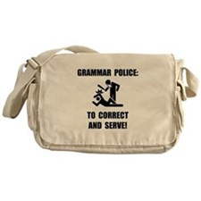 Grammar Police Messenger Bag
