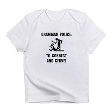 Grammar Police Infant T-Shirt