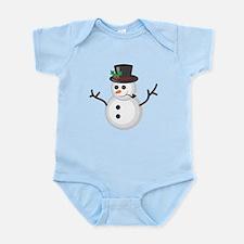 Christmas Snowman Body Suit